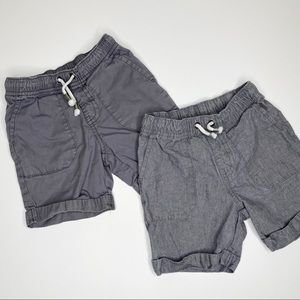 Cat & Jack Gray Shorts Bundle
